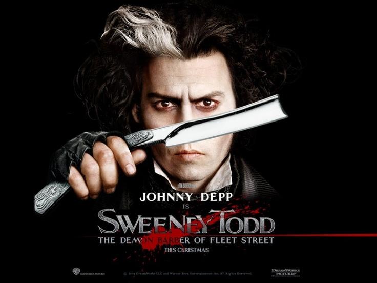 Sweeney Todd; The demon barber of Fleet Street