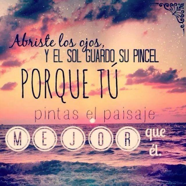 Pura poesía... Calle 13 ojos color sol  So sweet...