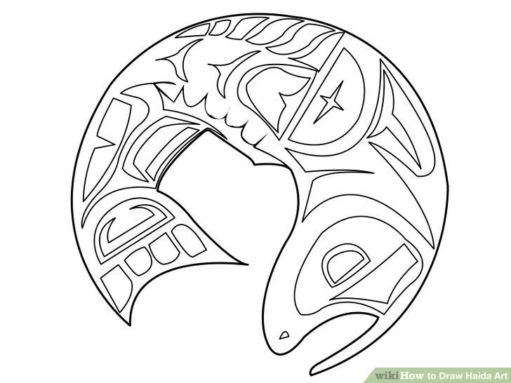 Image titled Draw Haida Art Step 7