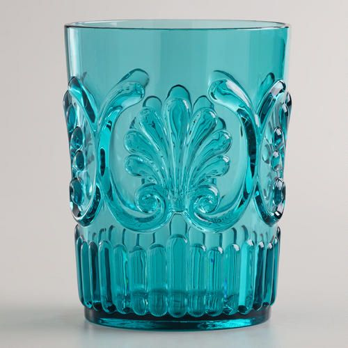 One of my favorite discoveries at WorldMarket.com: Aqua Pacific Tumblers, Set of 2