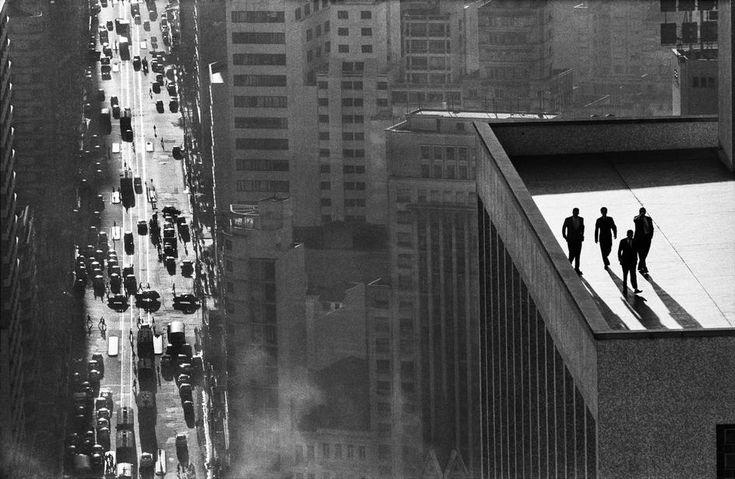 René Burri high vantage point/perspective macro lens for compression