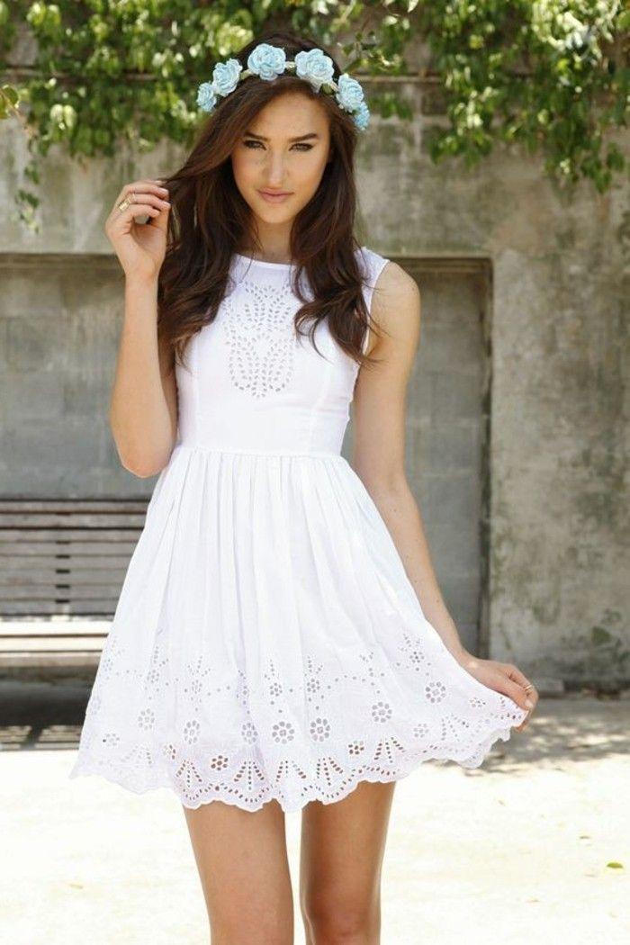 newest collection c94d7 bb955 105 verblüffende Ideen für weißes Kleid! | Kleider | Weiße ...