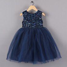 Nowy Niebieski Księżniczka Dziewczyna Party Suknie Ślubne w stylu Kwiat Cekinami Tutu Dress for Christmas dziewczyny ubrania 3-7 lat(China (Mainland))