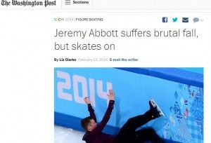 """An Olympics Performance Perfect For A Lesson On """"Grit"""""""