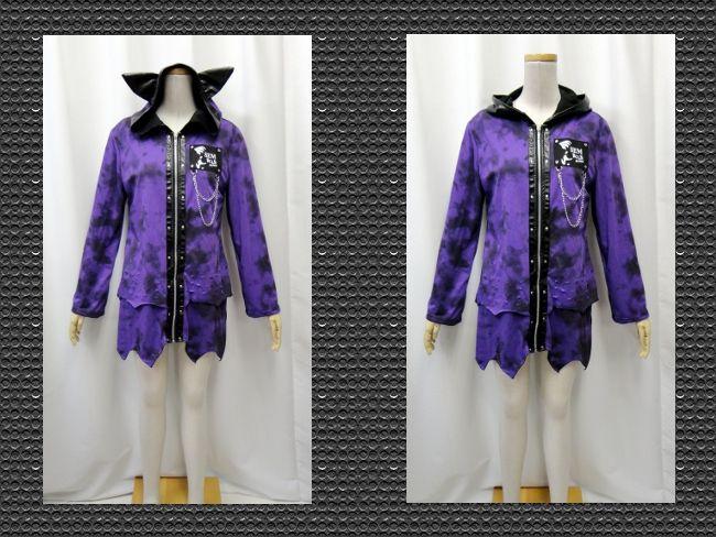 【楽天市場】ゴスロリ ゴスパンク ゴシック 猫耳パーカー むら染め アシンメトリー ダメージ カット 紫:PARROT