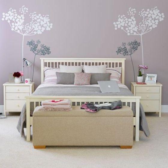 Habitaciones con decoraciones sencillas colores pasteles - Simple decoraction for room pastel color