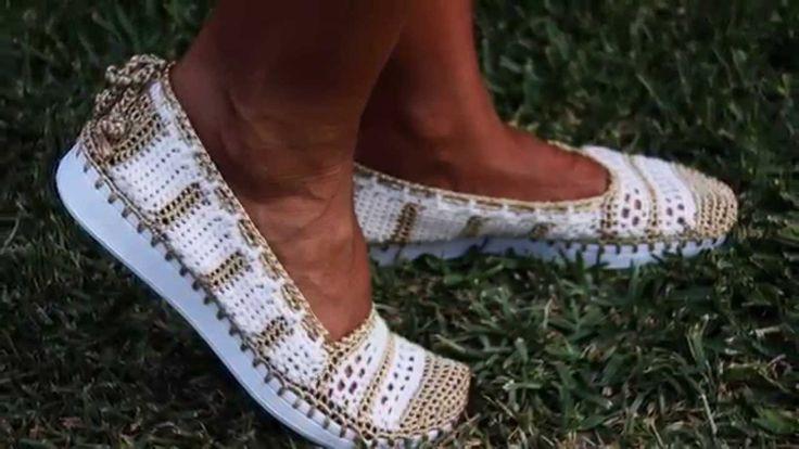 Mocasines Crochet - Crochet Loafers www.kdd-crafts.com