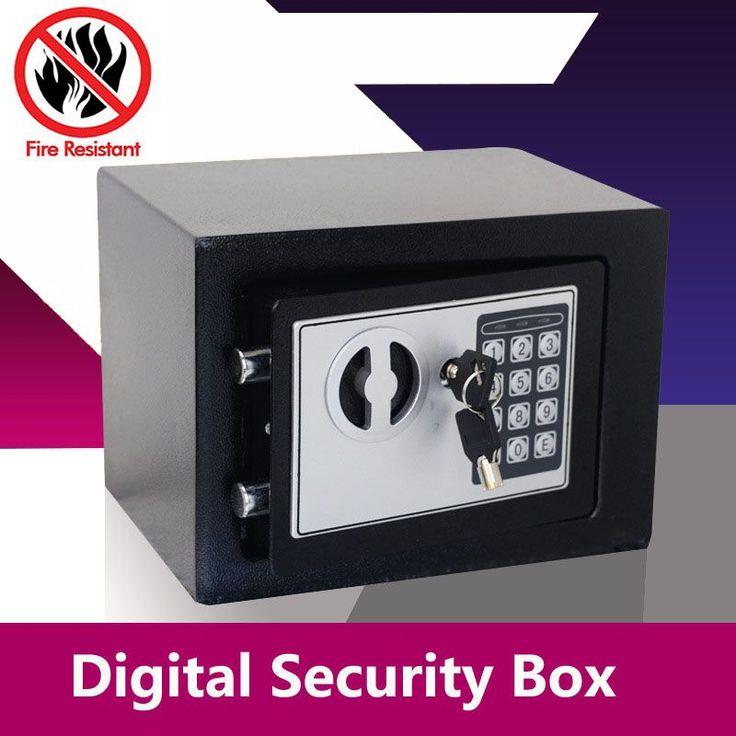 Digital Safe Box Small Household Mini Steel Safes Money Bank Safety Security Box Keep Cash Jewelry & Best 25+ Digital safe ideas on Pinterest   Teachers online Safe ... Aboutintivar.Com