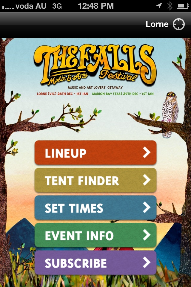 Falls Festival 2012