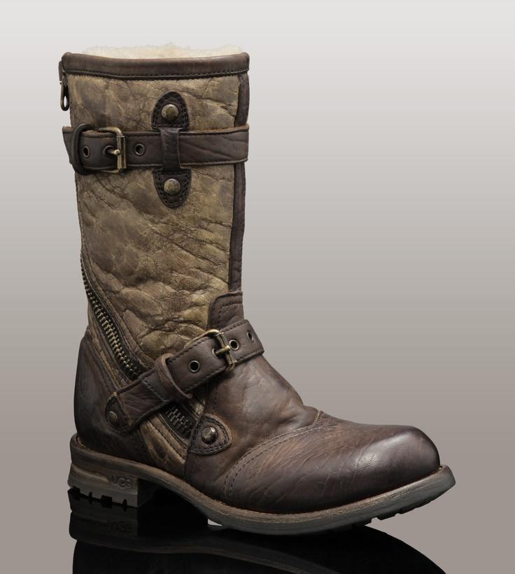 Perfect Ugg Fabrizia Leather Boot