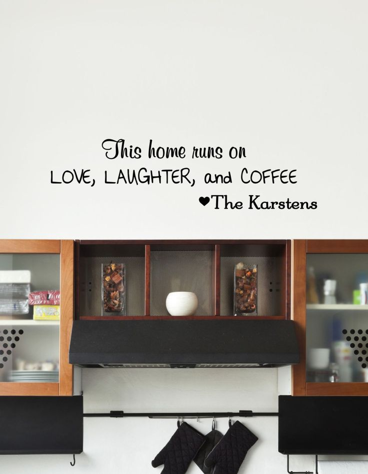 Best Kitchen Vinyl Decal Decor By The Vinyl Company Images On - Custom vinyl wall decals coffee