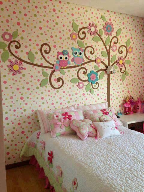 decoración en la pared (infantil)
