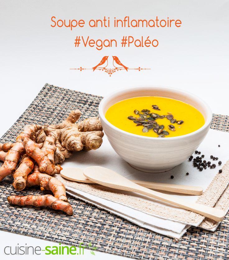 Soupe anti inflammatoire