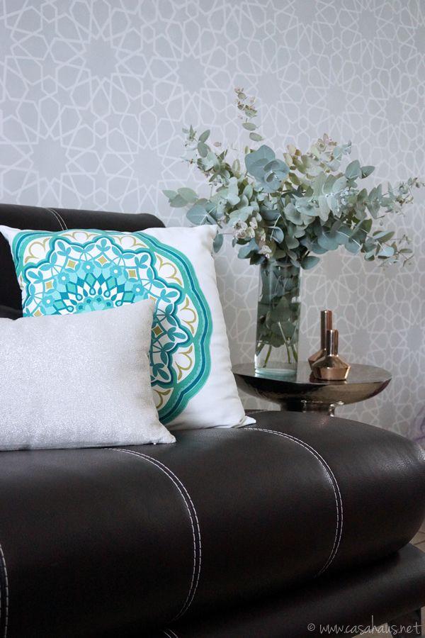 Our Moroccan inspired living room // Nuestra sala de inspiración marroquí // Casa Haus