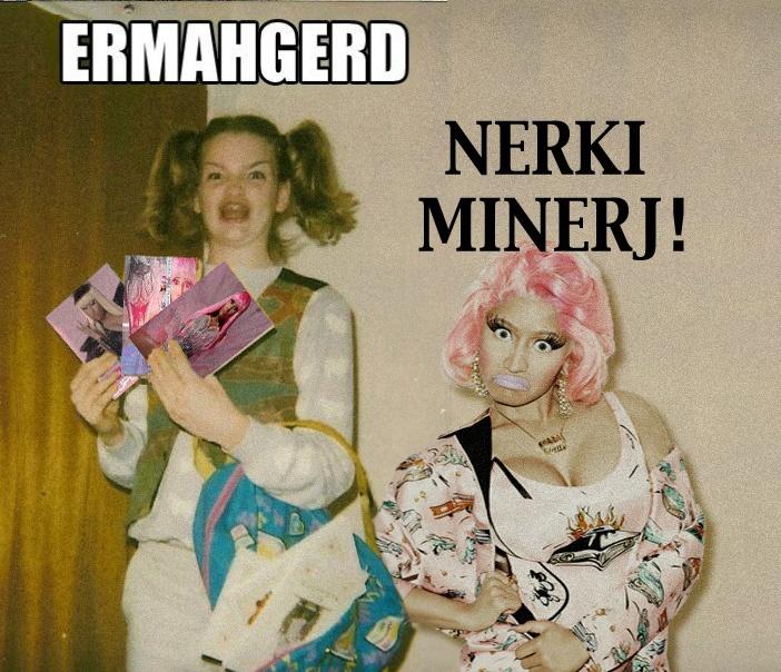 Pics For > Ermahgerd Girl Face