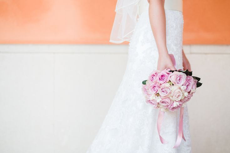 Soft and ethereal wedding bouquet