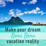 Best times to visit Bora Bora