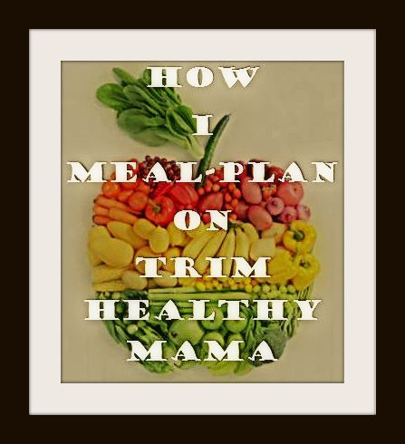 How I Meal Plan for Trim Healthy Mama with Printables from www.adventuresinwomanland.wordpress.com