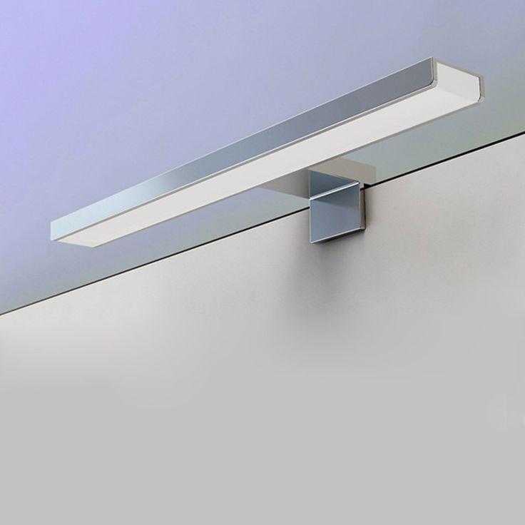 BAYTTER® LED Spiegelleuchte Spiegellampe 5W aus Aluminum wasserdicht IP44 Badlampe Badleuchte warmweiß: Amazon.de: Beleuchtung