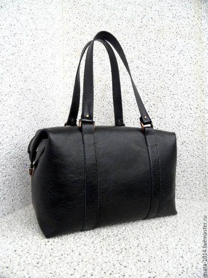 Женские сумки ручной работы. Ярмарка Мастеров - ручная работа. Купить СИТИ в деталях, большая кожаная сумка, на подкладке из замши. Handmade.