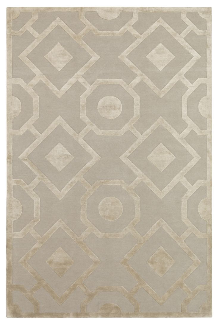 Romy by Suzanne Sharp #neutral #classic #wool #silk #rug #handmade