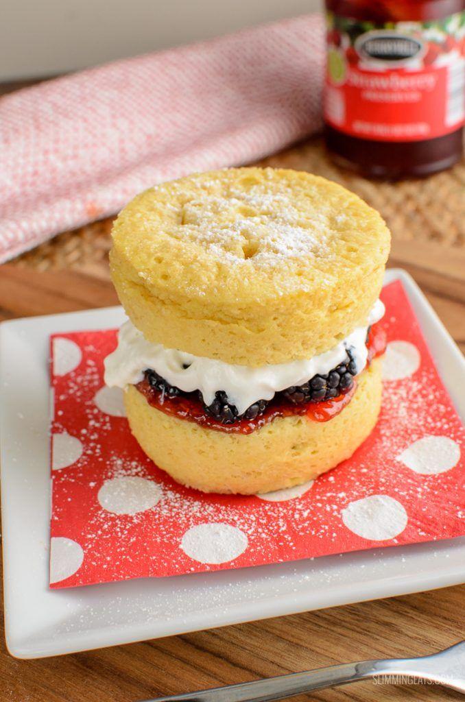 Slimming World Victoria Sponge Cake