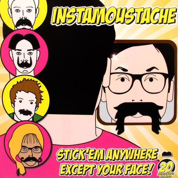 "Bigotes adhesivos ""Insta Moustache"" 20 tipos diferentes | Tecniac"