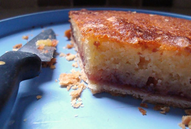 Bakewell tart with a vanilla crust - Recipes from a Normal Mum