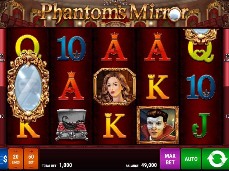 Drehe jetzt absolut kostenlos Spielautomat Phantom's Mirror - http://freeslots77.com/de/phantoms-mirror/