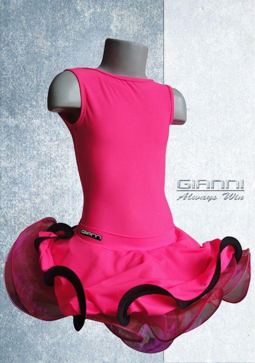 GianniStyle Dancewear Kids latin dress dancewear latin dances