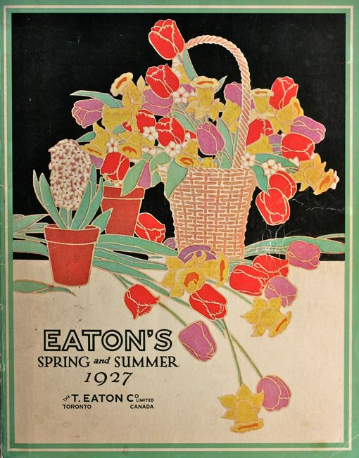 Eaton's Spring and Summer 1927 (The T. Eaton Co. Limited)