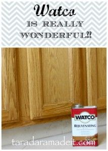 Clean your cabinets and make them look new