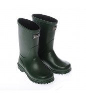 Childrens Wellington Boot In Green