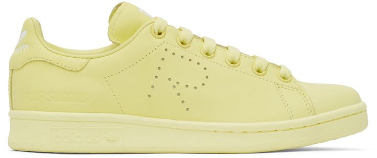 Raf Simons - Yellow Stan Smith adidas by RAF SIMONS Sneakers