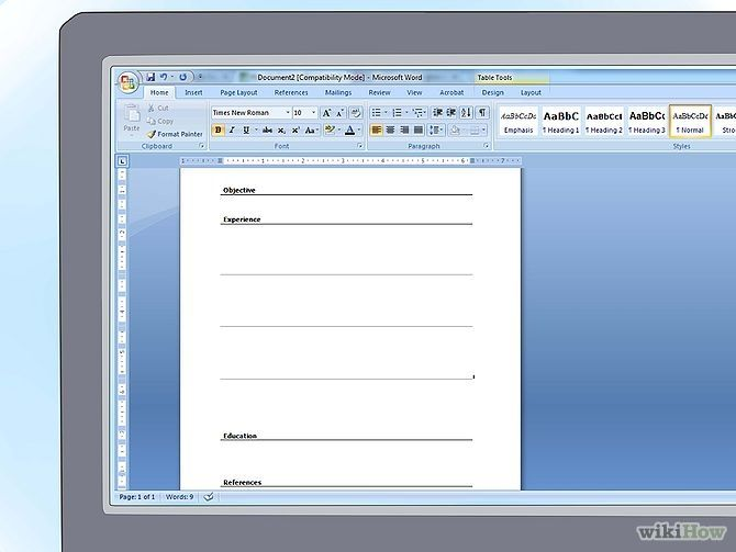 Best 25+ Create a resume ideas on Pinterest Create a cv, Writing - how to make a resume on microsoft word 2010