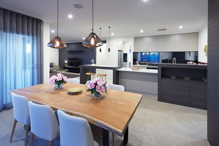 The Wildflower, Dining Room, Open Plan Living