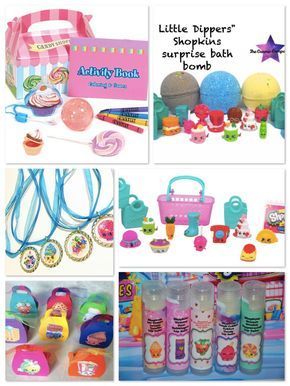 Shopkins Birthday Party Planning Ideas & Supplies >> Shopkins Party Favors