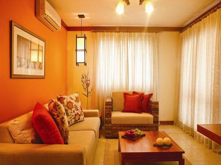 17 best ideas about orange color schemes on pinterest - Blue and orange color scheme for living room ...