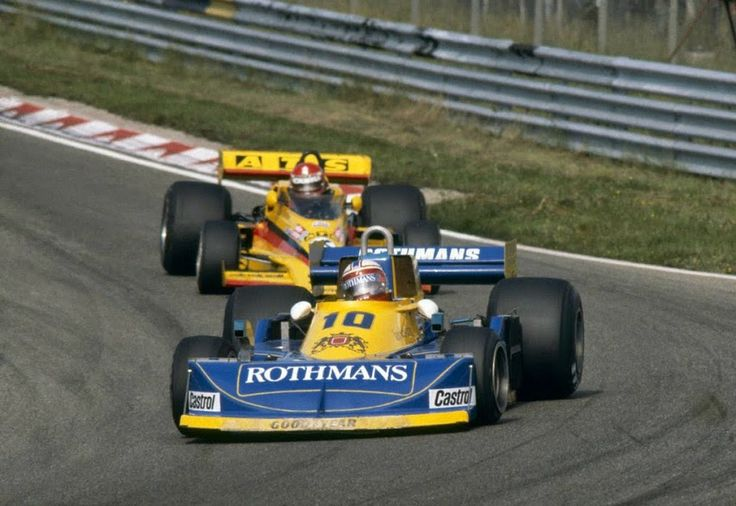 Ian Scheckter (ZAF) (Team Rothmans International), March 771 - Ford-Cosworth DFV 3.0 V8 (finished 10th) Hans Binder (AUT) (ATS Racing Team), Penske PC4 - Ford-Cosworth DFV 3.0 V8 (finished 8th) 1977 Dutch Grand Prix, Circuti Zandvoort
