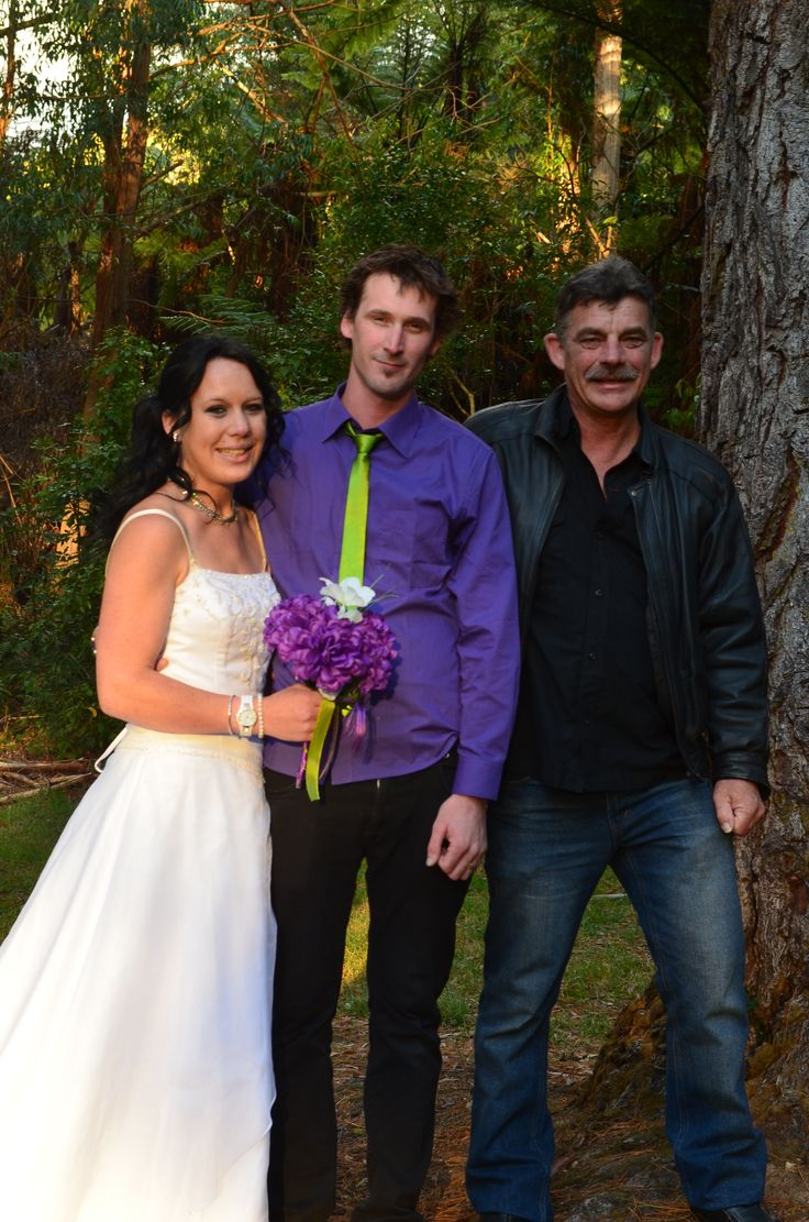 me, logan and my dad