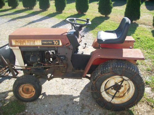 Vintage Mtd Lawn Tractors : Mtd farm king garden tractor with blade gardens