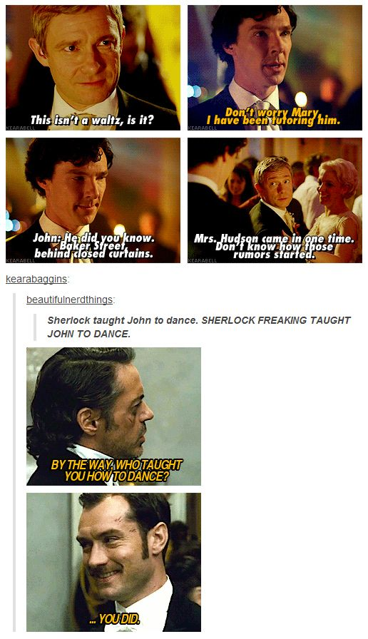 Gah, Holmes and Watson are always so cute!