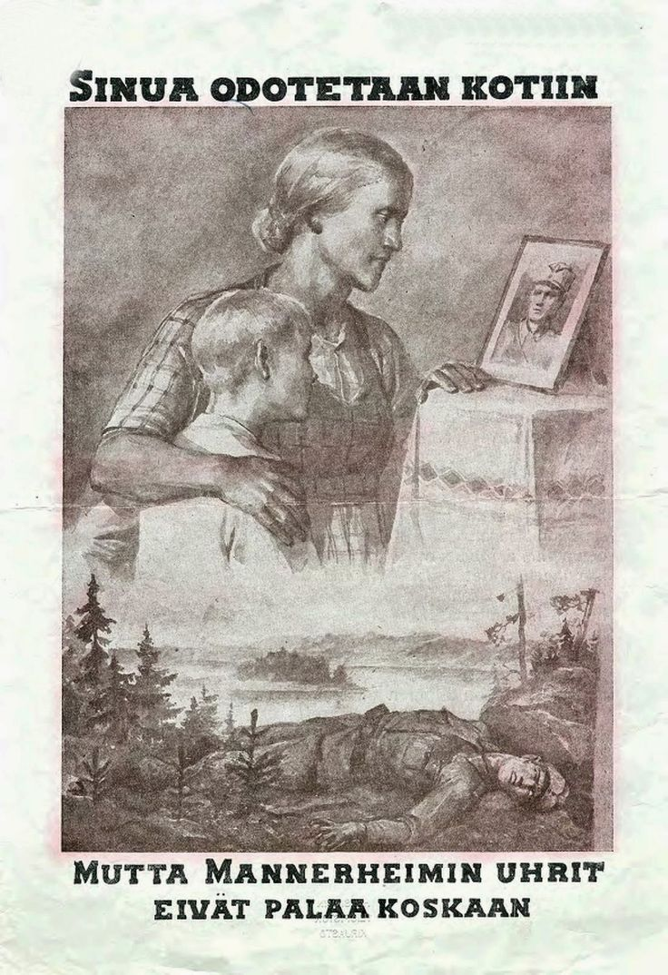 Russian War propanga against Finland