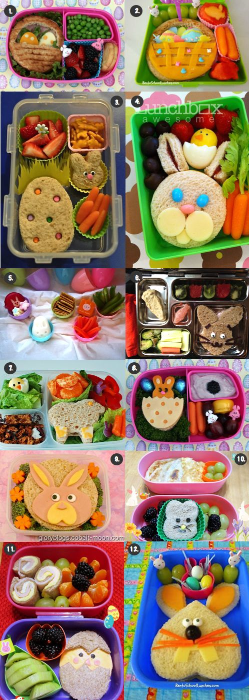 12 Great Easter Lunch Ideas!!!! Check them out!!!
