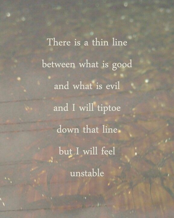 Tightrope I love this song