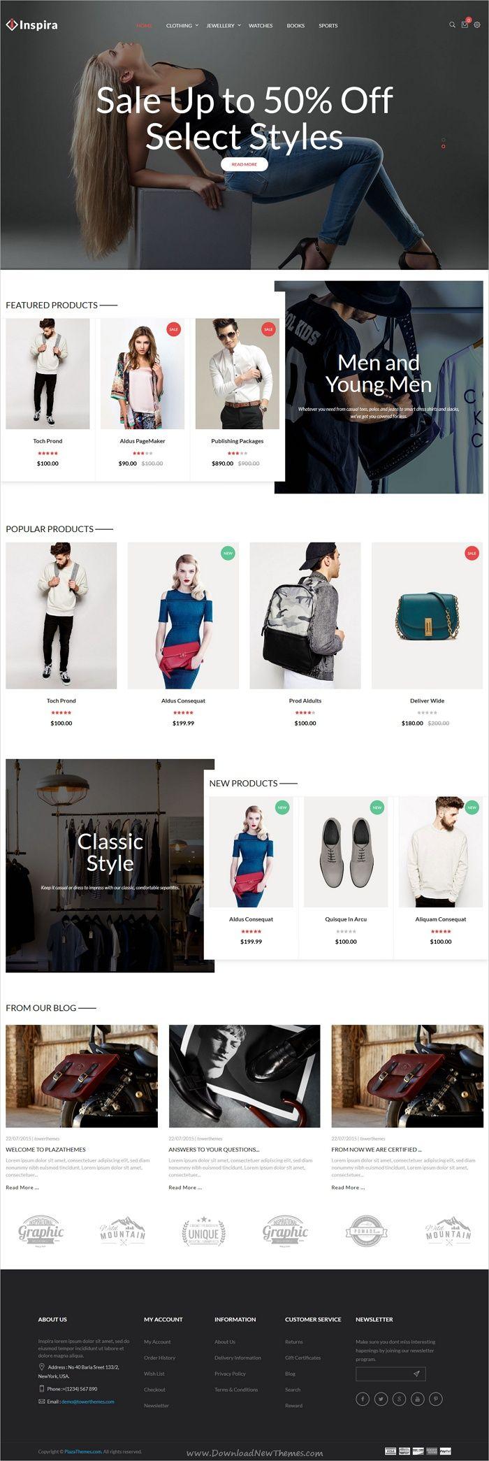 Inspira is a wonderful 6in1 responsive #Prestashop theme for stunning #fashion #store eCommerce websites download now➩ https://themeforest.net/item/inspira-multipurpose-responsive-prestashop-theme/19355530?ref=Datasata