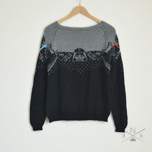 Ravelry: Star Wars Sweater - Extended Sizes pattern by Natalie Meredith