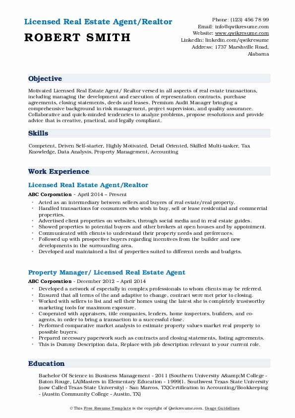 Real Estate Agent Resume Description Awesome Real Estate Agent Resume Samples Teacher Resume Examples Good Resume Examples Education Resume