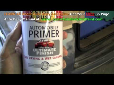 how to paint plastic auto parts yourself sem youtube auto body. Black Bedroom Furniture Sets. Home Design Ideas