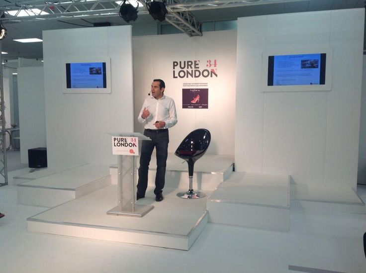 Science of buying is being discussed on the Gallery Stage at #Pure34